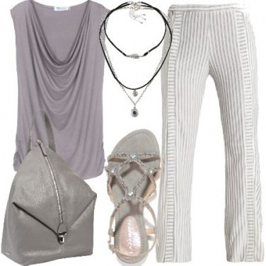 Outfit Tenui righe