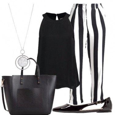Outfit Tra il bianco e il nero
