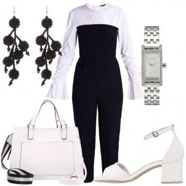 Outfit Ricominciare in bianco e nero
