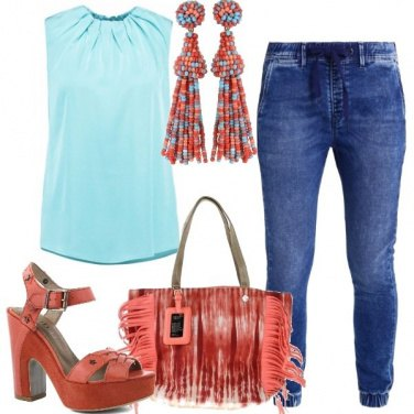 Outfit I jeans baggy