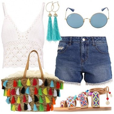 Outfit Il top crochet