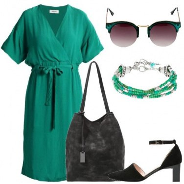 Outfit Rientro in verde