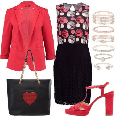 Outfit Riparti con il rosso