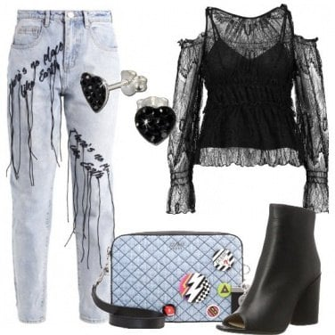 Outfit Glamour d\'effetto