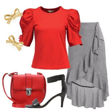 Outfit La gonna in fantasia vicky