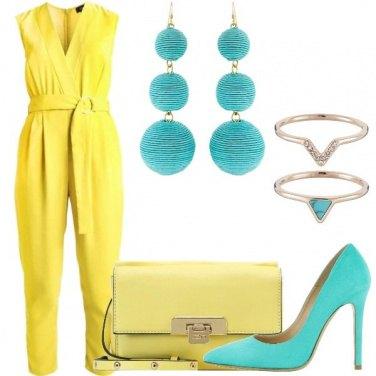 Outfit La simmetria del colore