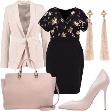 Outfit Curvy romantica