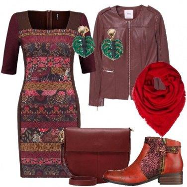Outfit Stivaletti e vestito