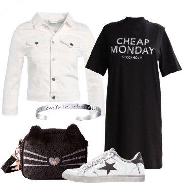 Outfit Un pratico vestito nero