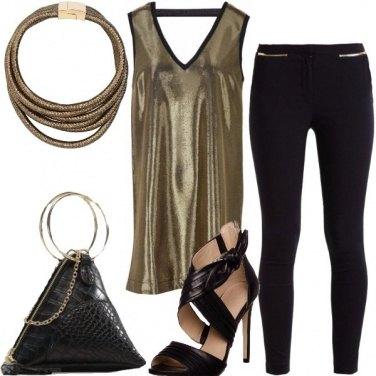 Outfit Leggings per la sera
