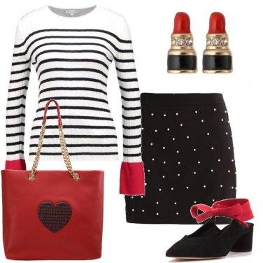 Outfit La borsa con il cuore