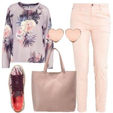 Outfit Ricomincio in rosa