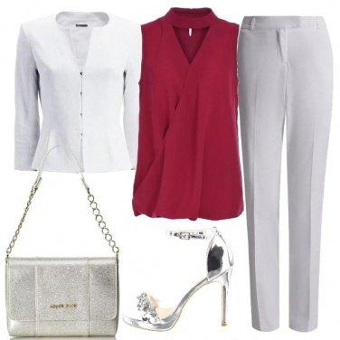 Outfit Una serata d\'argento