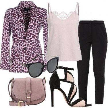 Outfit Blazer fantasia floreale