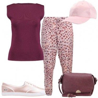 Outfit I pantaloni in fantasia