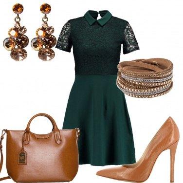 Outfit Il vestito molto corto