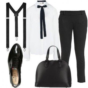 Outfit Le bretelle al femminile
