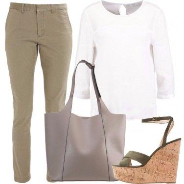 Outfit La camicetta bianca