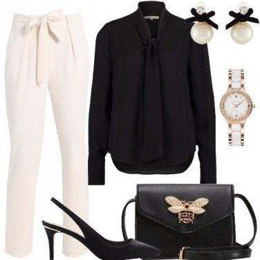 Outfit Per chi ama il bianco e nero