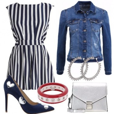 Outfit Playsuit e tacchi