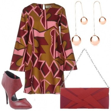 Outfit Un vestito tre colori