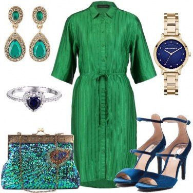 Outfit Vanitosa come un pavone