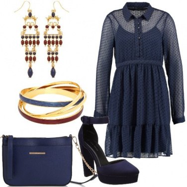 Outfit Mini dress fantasia a pois