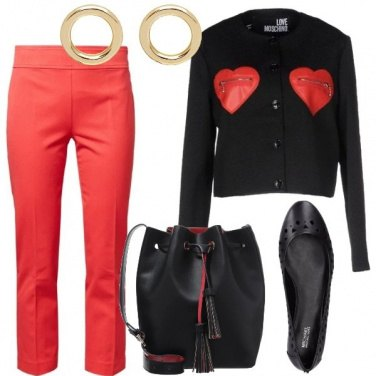 Outfit La giacca con i cuori