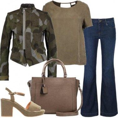 Outfit Blazer mezza stagione
