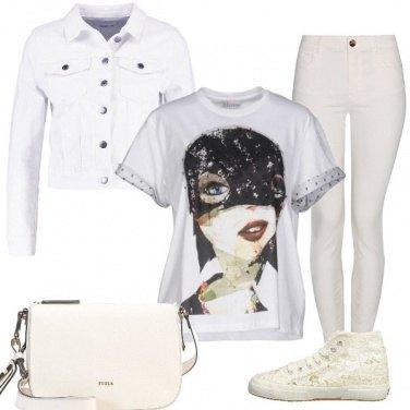 Outfit T-shirt da sera