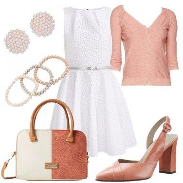 Outfit Vestito bianco