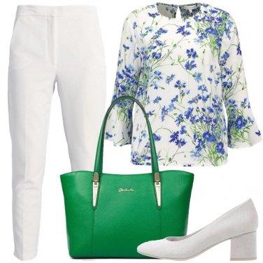 Outfit La borsa verde