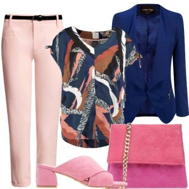 Outfit Sfumature in rosa