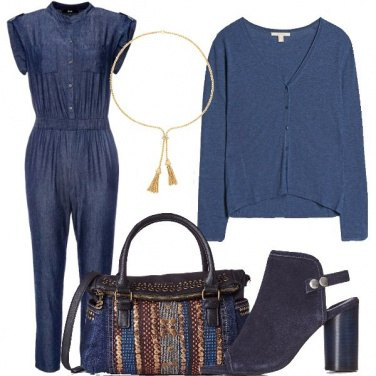 Outfit Declinazioni di blu
