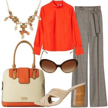 Outfit Il pantalone palazzo