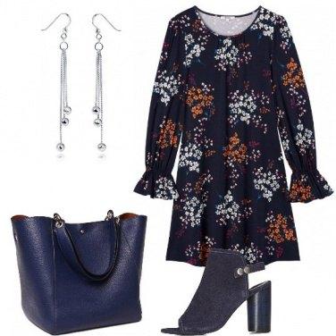 Outfit L\'abito a piccoli fiori