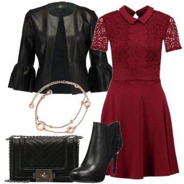 Outfit Il vestitino rosso