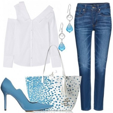 Outfit La camicia asimmetrica