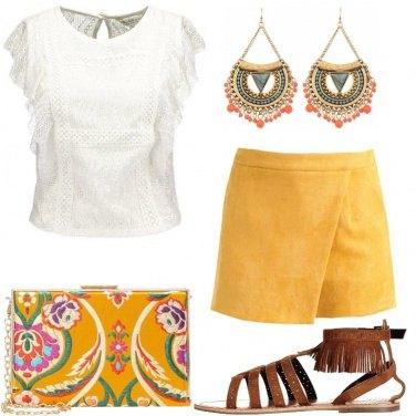 Outfit Serata dal gusto etnico