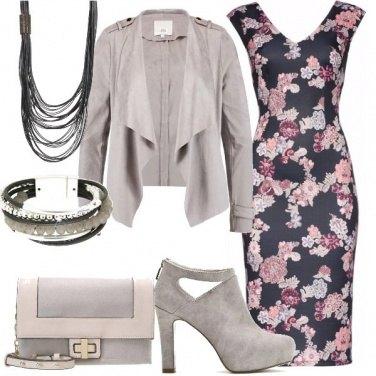 Outfit Tubino fantasia floreale