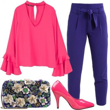 Outfit Fiocchi e fiori