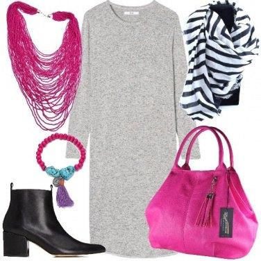 Outfit Tocchi di fucsia