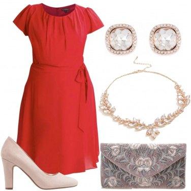 Outfit Rosso brillante