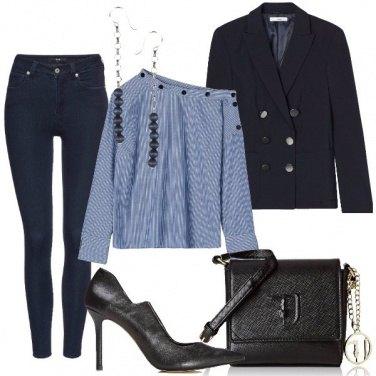 Outfit Blazer doppiopetto