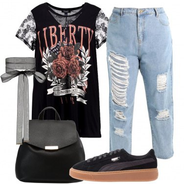 Outfit Giorni rock