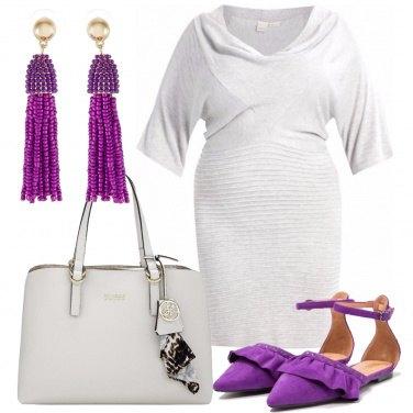 Outfit Un tocco di viola