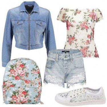 Outfit Ragazza in fiore