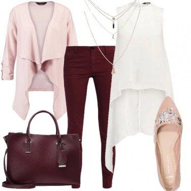 Outfit La blusa lunga dietro