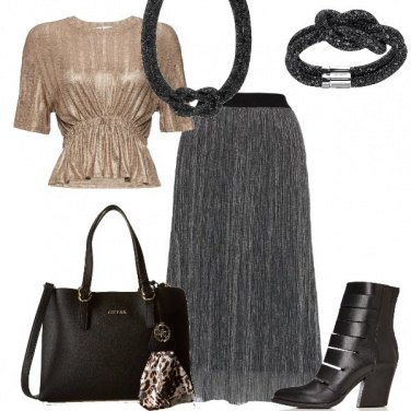 Outfit La gonna plissè