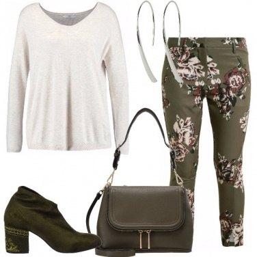 Outfit Con i pantaloni a fiori